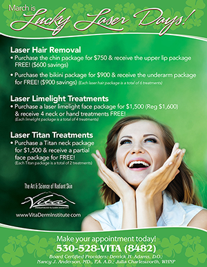Red Bluff Laser Skin Care Treatments