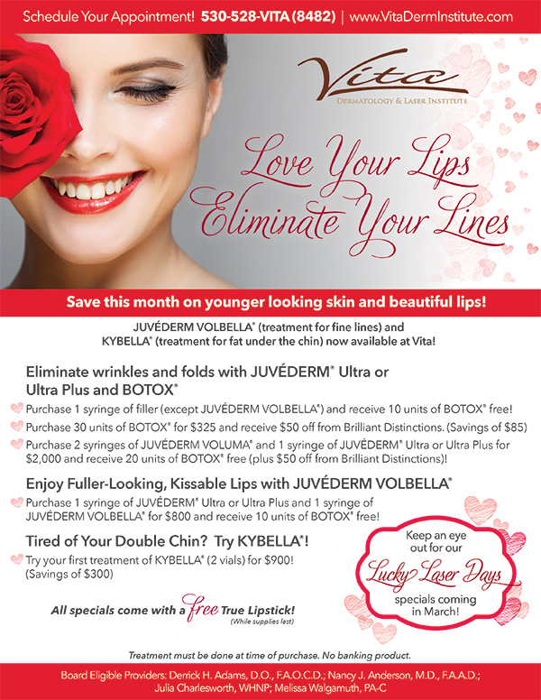 Juvederm Volbella In Red Bluff